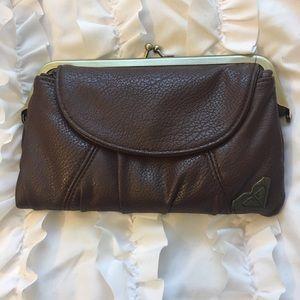Roxy faux leather wallet